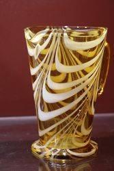 Art Deco Amber Jug