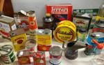 Genuine Assorted Automobilia Cans  --- Auto 12