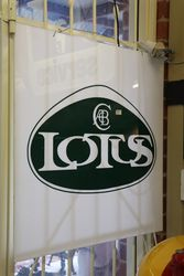 Lotus Advertising Sign