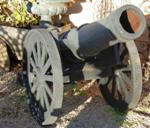 Small Cast Iron Cannon ---