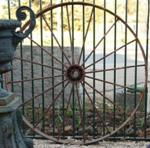 Cast Iron Wagon Wheel