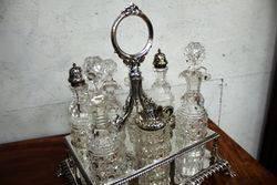 Stunning Quality Victorian 7 Bottle Cruet