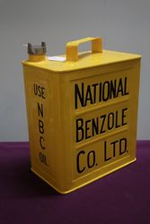 National Benzole 2 Gallon Can