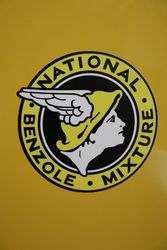 National Benzole Two Stroke Mier With Benzole Can