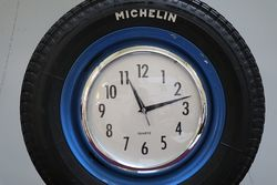 Michelin Tyres Display Clock