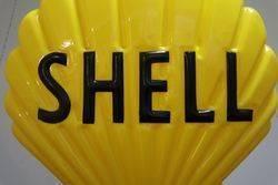 Shell Petrol Pump Advertising Globe