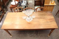Early 19th Century English Pine Farm Table