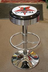 Adjustable GarageBar Stool Texaco