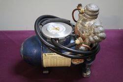 Early Frenc h Michelin Portable Bomb Compressor