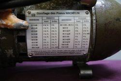 Early French Michelin Portable Bomb Compressor