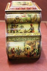 Rare Antique Huntley And Palmers Biscuit Tin
