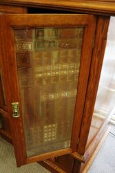 Antique Phillips Double Door Cabinet Safe