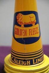 Genuine Golden Fleece Ram on Bone Tin Top