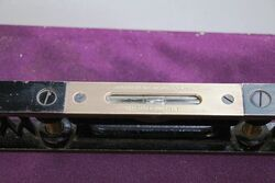 Vintage J Rabone and Sons 12in Cast Iron Spirit Level