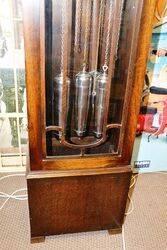 1930s Art Deco Longcase Clock