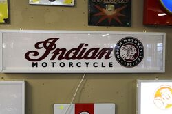 Contemporary Indian Motorcycles Light Box