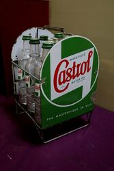Wakefield Castrol 9 Bottle Forecourt Oil Rack