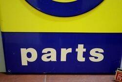Alfa Romeo Parts Plastic Forecourt Sign
