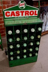 Wakefield Castrol Garage Forecourt 25 Bottle Trolley