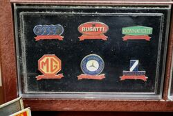 A Set of 36 Cased 3M Exclusive Edition 19002000 Car Badges