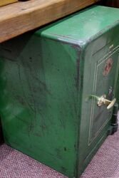 Antique Metal Safe by Samuel Withers and Co for the NAFFI