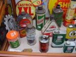 Selection Of Early Motoring Tins