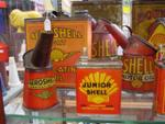 Selection Of Early Shell Tins