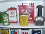 SELECTION OF 2 GAL TINS AND OTHERS    AUTO 76