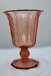 1920and39s Pressed Glass Vase