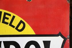 1920s Castrol Wakefield Motor Oil Enamel Sign