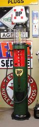 1920s Hammond Visible Manual Petrol Pump