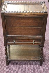 1930and39s Oak Sewing Box