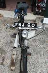 1950 Triumph with 499cc Trojan Mini Motor Engine Pedal Cycle