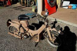 1953 BSA Dandy Barn Find