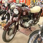 1958 Ariel NH 350cc Motorcycle