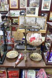 19th Century Brass Avery Beam Scales