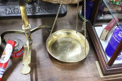 19th Century Brass Avery Beam Scales
