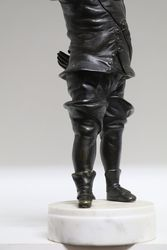 19th Century Bronze Figure Of The Festive Cavalier