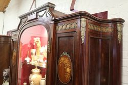 19th Century French Armoire Display Cabinet