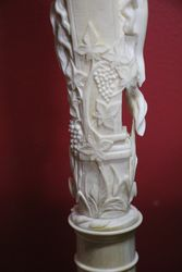 19th  Century Carved Ivory Figure