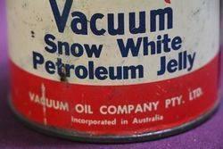 1lb Vacuum Snow White Petroleum Jelly