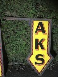 2019 Kodaks 2 Piece Double Sided Enamel Sign