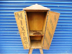 2019 Rare and Original Mixtrol 2 Door Metal Cabinet