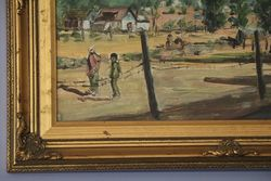 20th Century Original Oil Paining