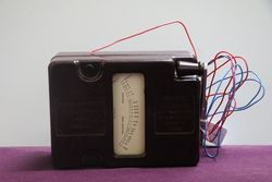 250 Volts Megger Meter Bakelite + In leather Case