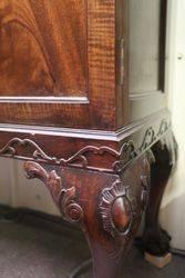 2 Door Mahogany Display Cabinet