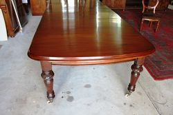 3 Leaf Mahogany Extension Table