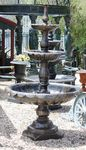 3 Tier Lisbon Cast Iron Fountain