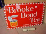 BROOK BOND TEA PICTORIAL ENAMEL SIGN ---SG84