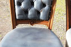6 Chesterfield Dining Chairs